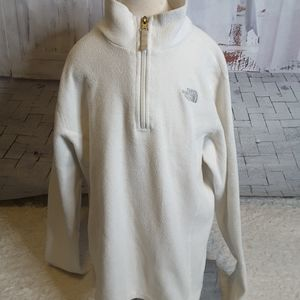 The North Face 1/4 zip sweatshirt size XL 18